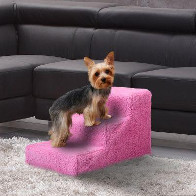 宠物爬梯-暗粉色
