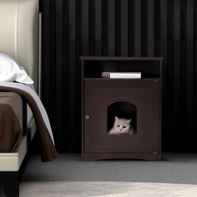 隔层猫窝-棕色