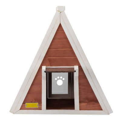 三角猫屋--白套红