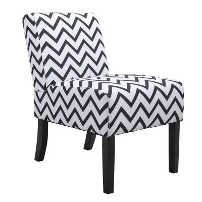 休闲椅--灰色条纹单把装