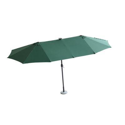 带灯双头伞-绿色