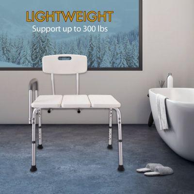 沐浴椅-带靠背单扶手