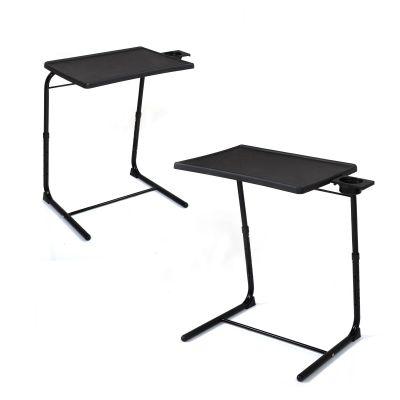 便携式电脑桌-黑色两个装