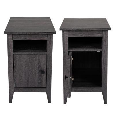 床头柜-水泥灰两个装