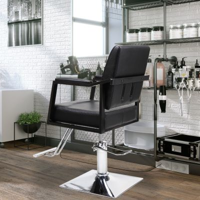 小型理发椅-黑色