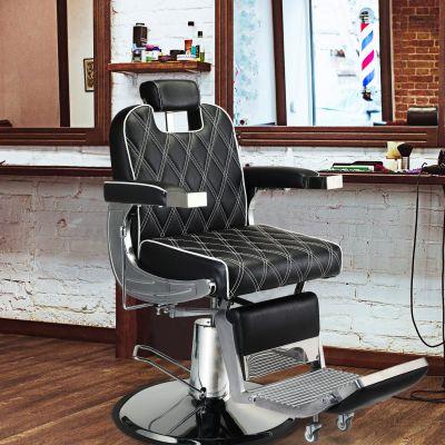 理发椅-凹型菱形纹路款