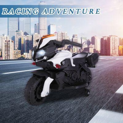 儿童摩托车-白黑