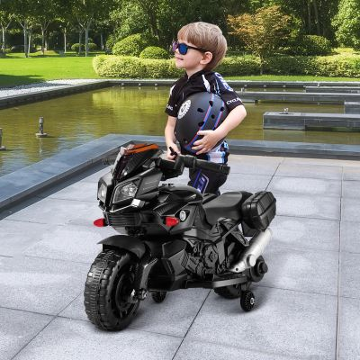 儿童摩托车(水转印 黑色炭纤维)