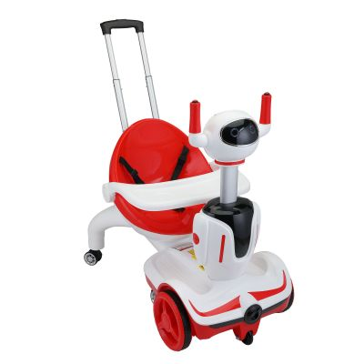 机器侠童车--红白色