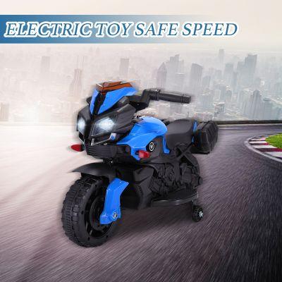 儿童摩托车-蓝色