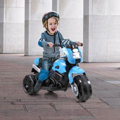 三轮电动童车-蓝色