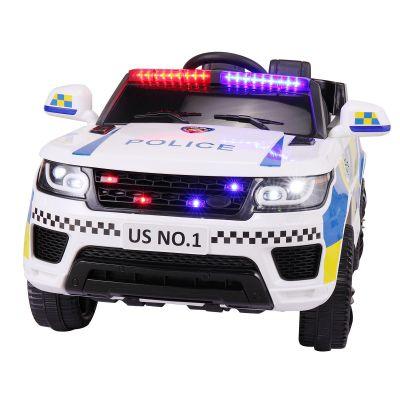 儿童越野警车--白色款