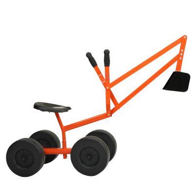 儿童挖掘机(大轮)-橙色