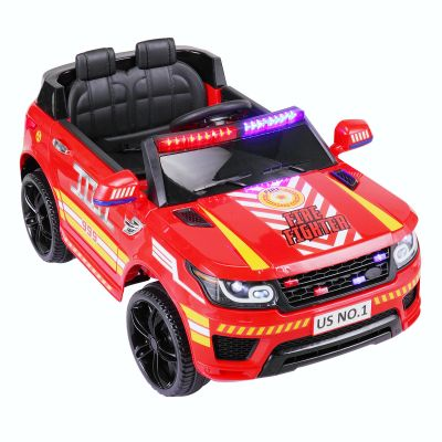 儿童越野警车--红色款