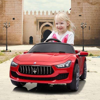 玛莎拉蒂童车-红色