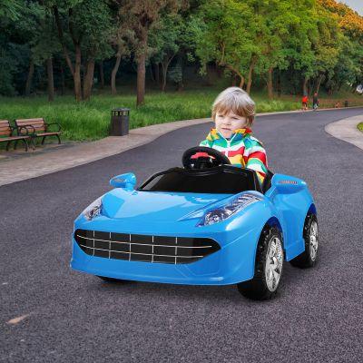 电动儿童跑车-蓝色