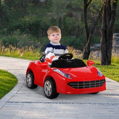 电动儿童跑车-红色