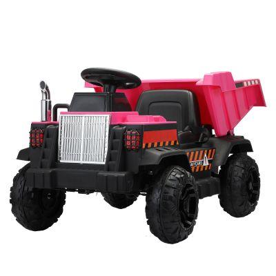 工程运输车-玫红色