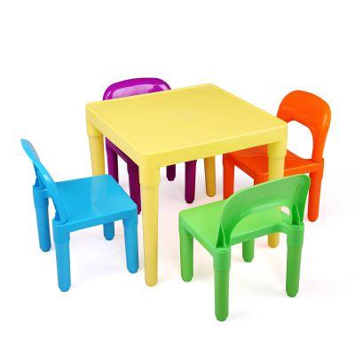 儿童一桌四椅