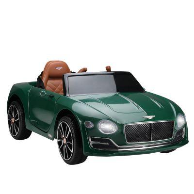 宾利跑车-墨绿色