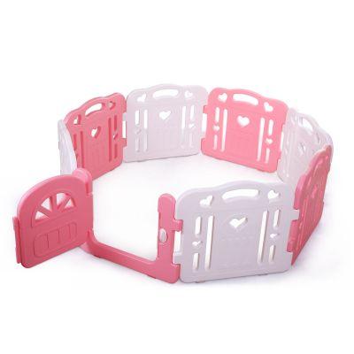 儿童围栏-白粉色
