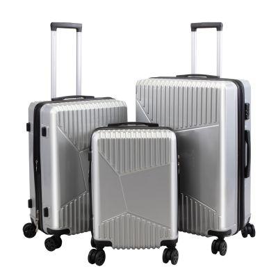 20/24/28寸行李箱三件套--银色