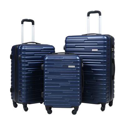 行李箱三件套-藏蓝色