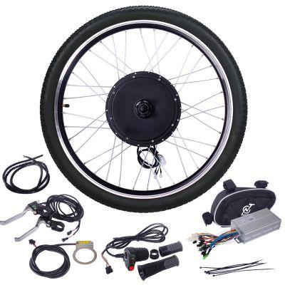 1000W 自行车前轮套装